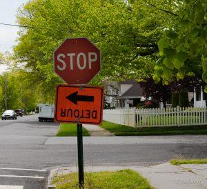 Stop Detour